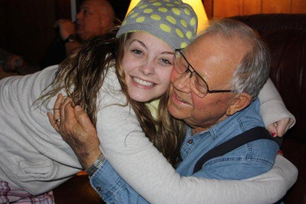 grandpa & reagan