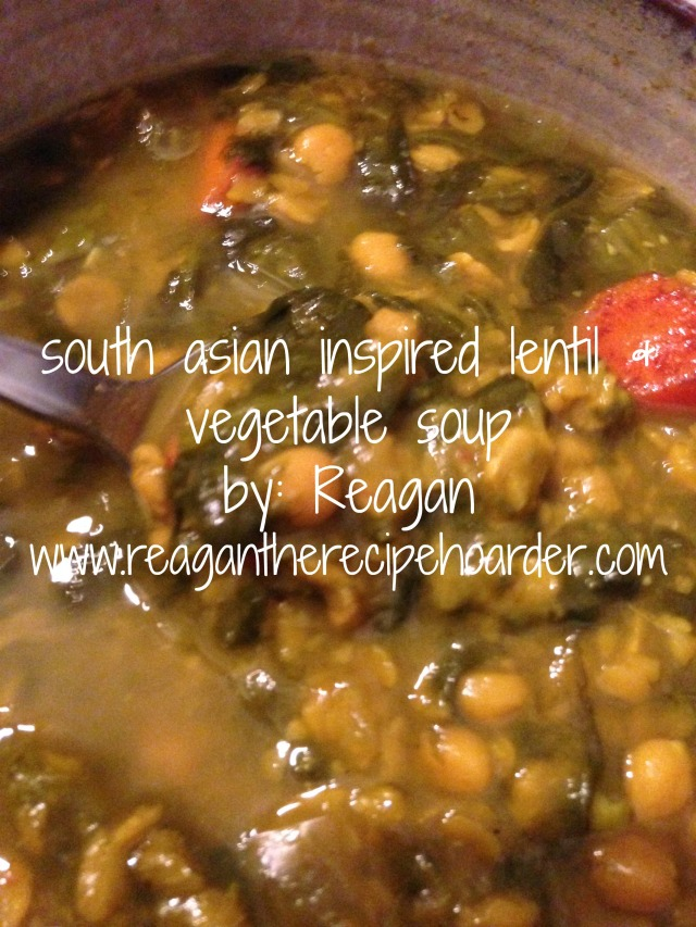 south asian inspired vegetable soup | reagantherecipehoarder.com