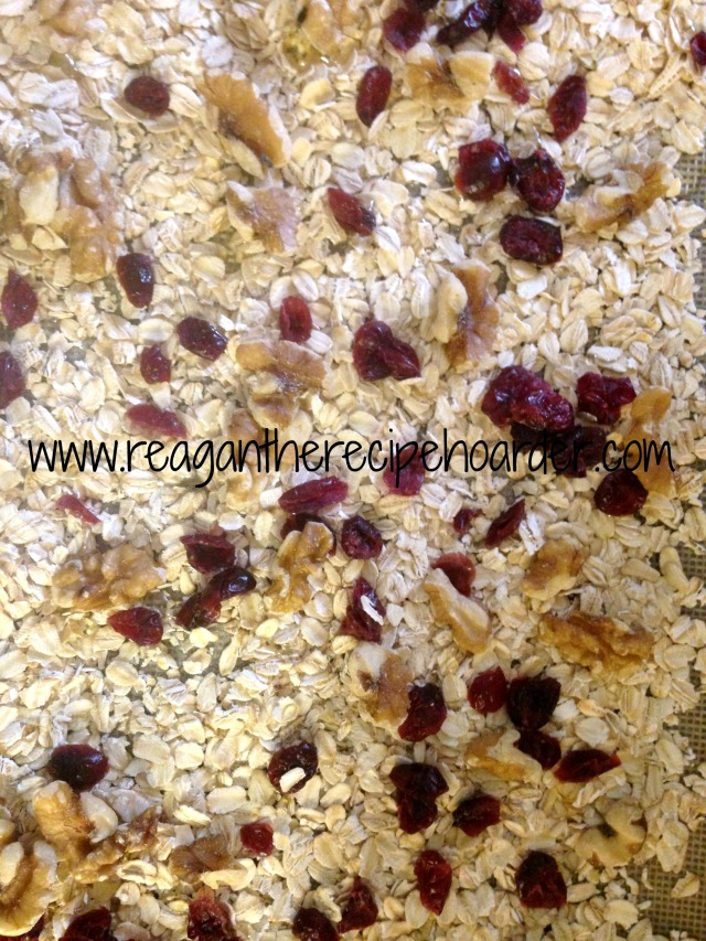 cranberry & walnut granola | reagantherecipehoarder.com