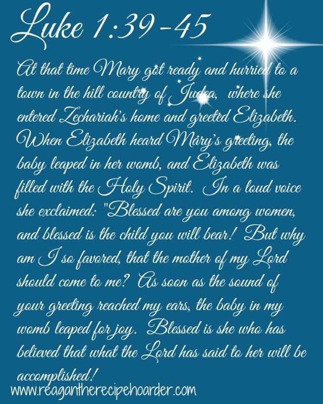 Luke 1 39-45