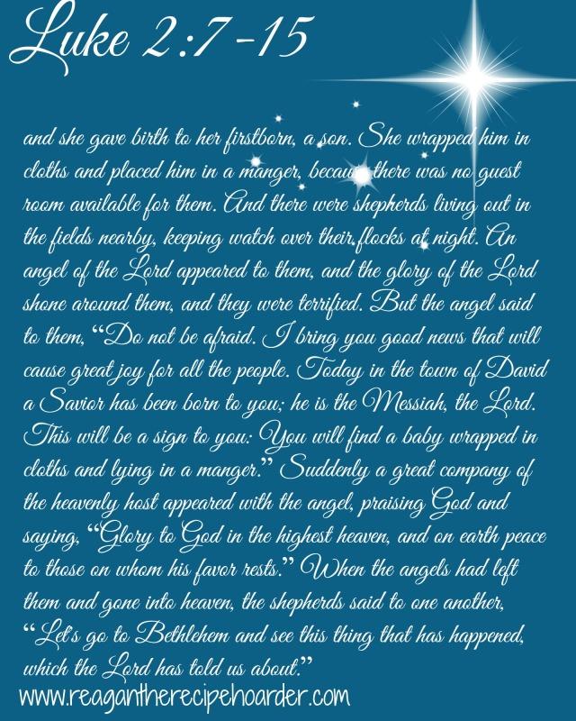 Luke 2 7-15