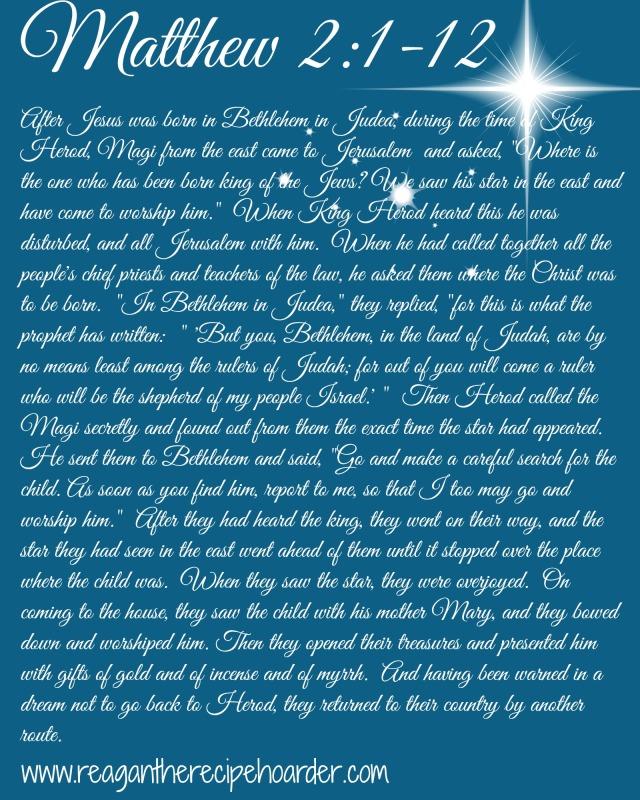 Matthew 2 1-12