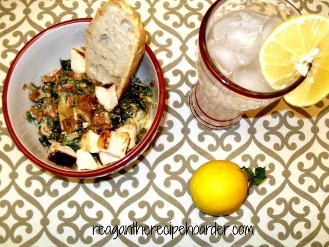 creamy pepper & pesto pasta   reagantherecipehoarder.com
