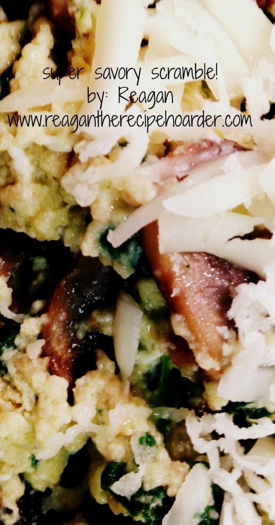 super savory scramble! | reagantherecipehoarder.com
