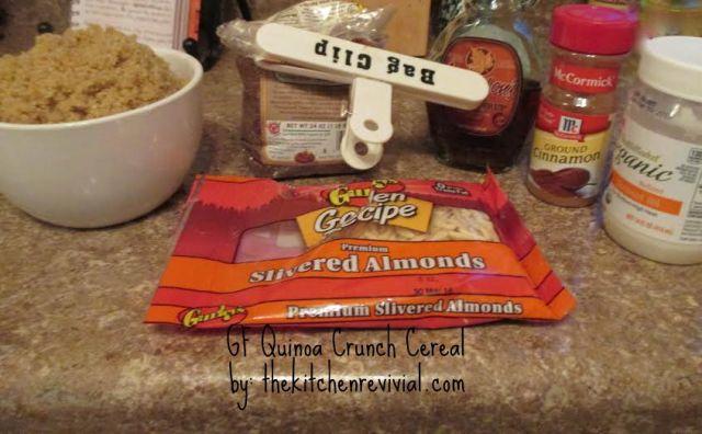 GF quinoa crunch | reagantherecipehoarder.com