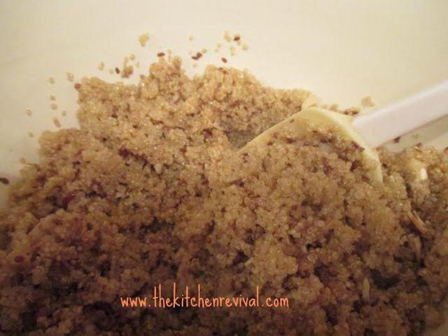 quinoa crunch | reagantherecipehoarder.com
